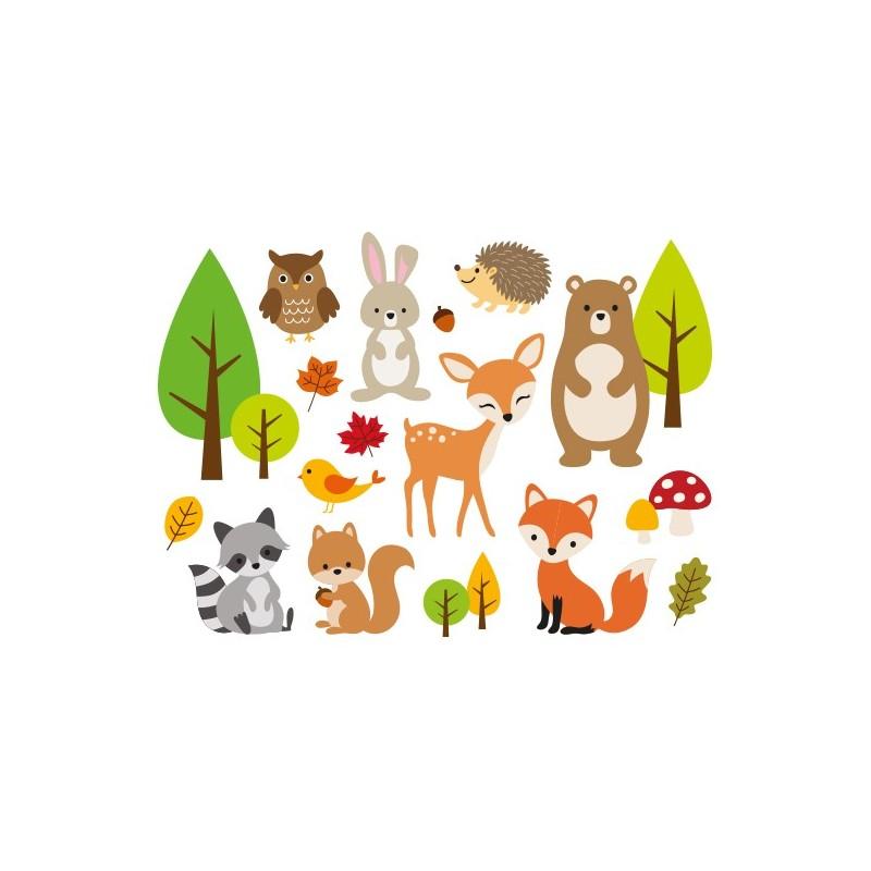 Animaux de la Forêt 02