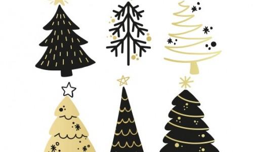Planches Sapin de Noël