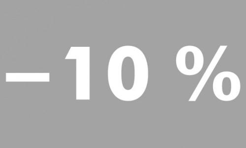 -10% futura