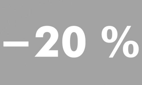 -20% futura