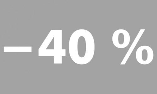 -40% futura