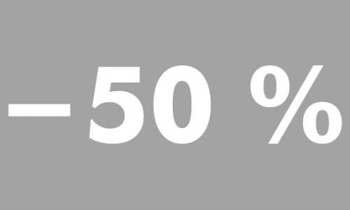 -50% futura