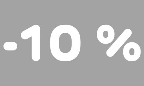 -10% rubrik