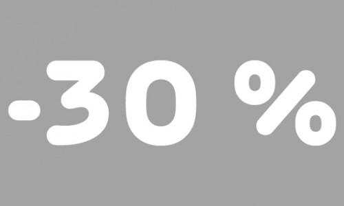 -30% rubrik