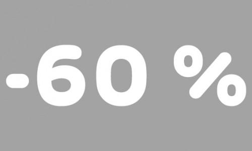 -60% rubrik