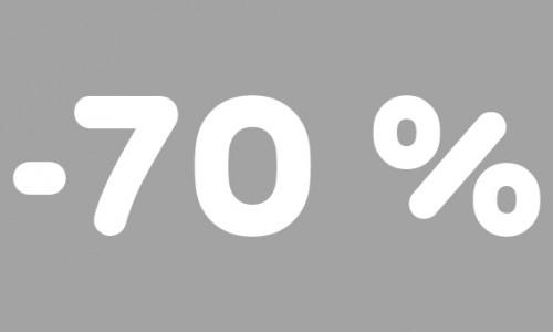 -70% rubrik